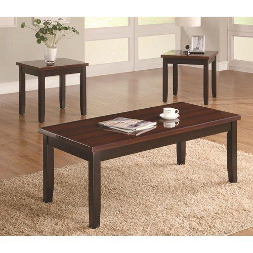 Super 3 Pc Coffee And End Tables By Coaster Furniture Camellatalisay Diy Chair Ideas Camellatalisaycom