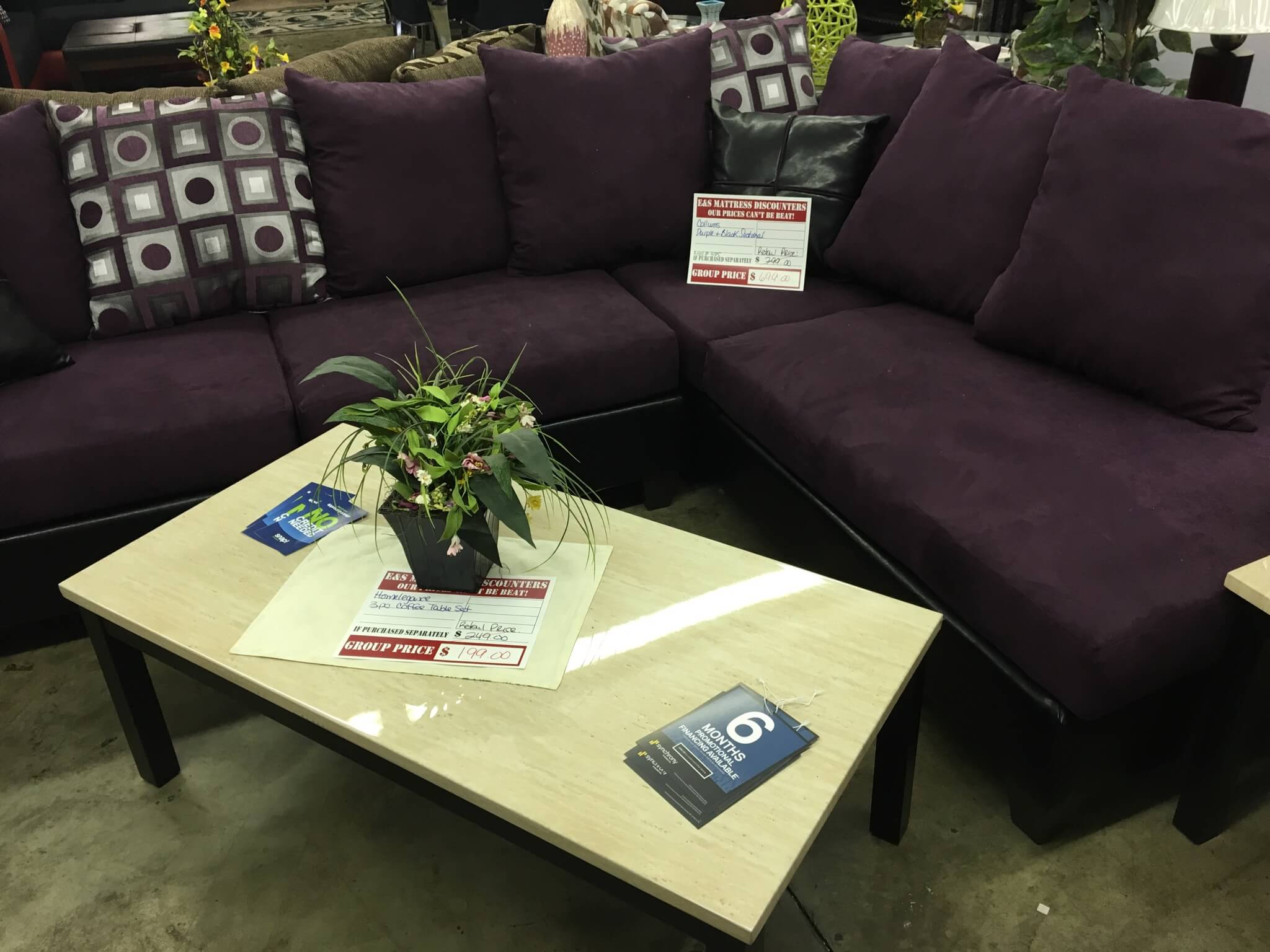 PB Sectional By Collums Furniture