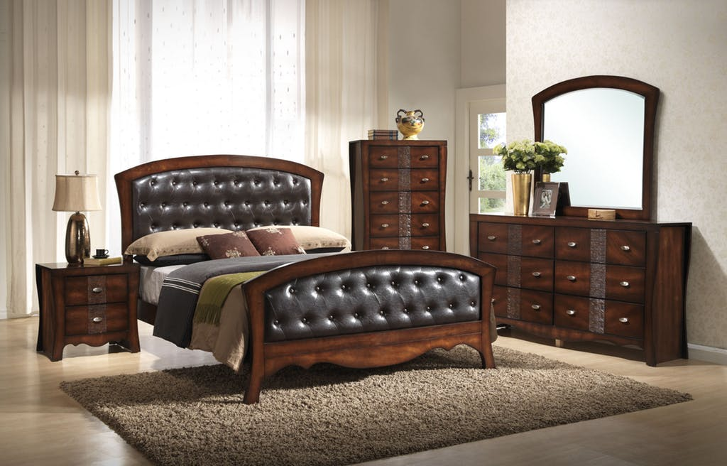 Leather Bedroom Suite by Elements Furniture - E & S Mattress E & S ...