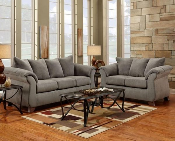Sofa Set Light Grey